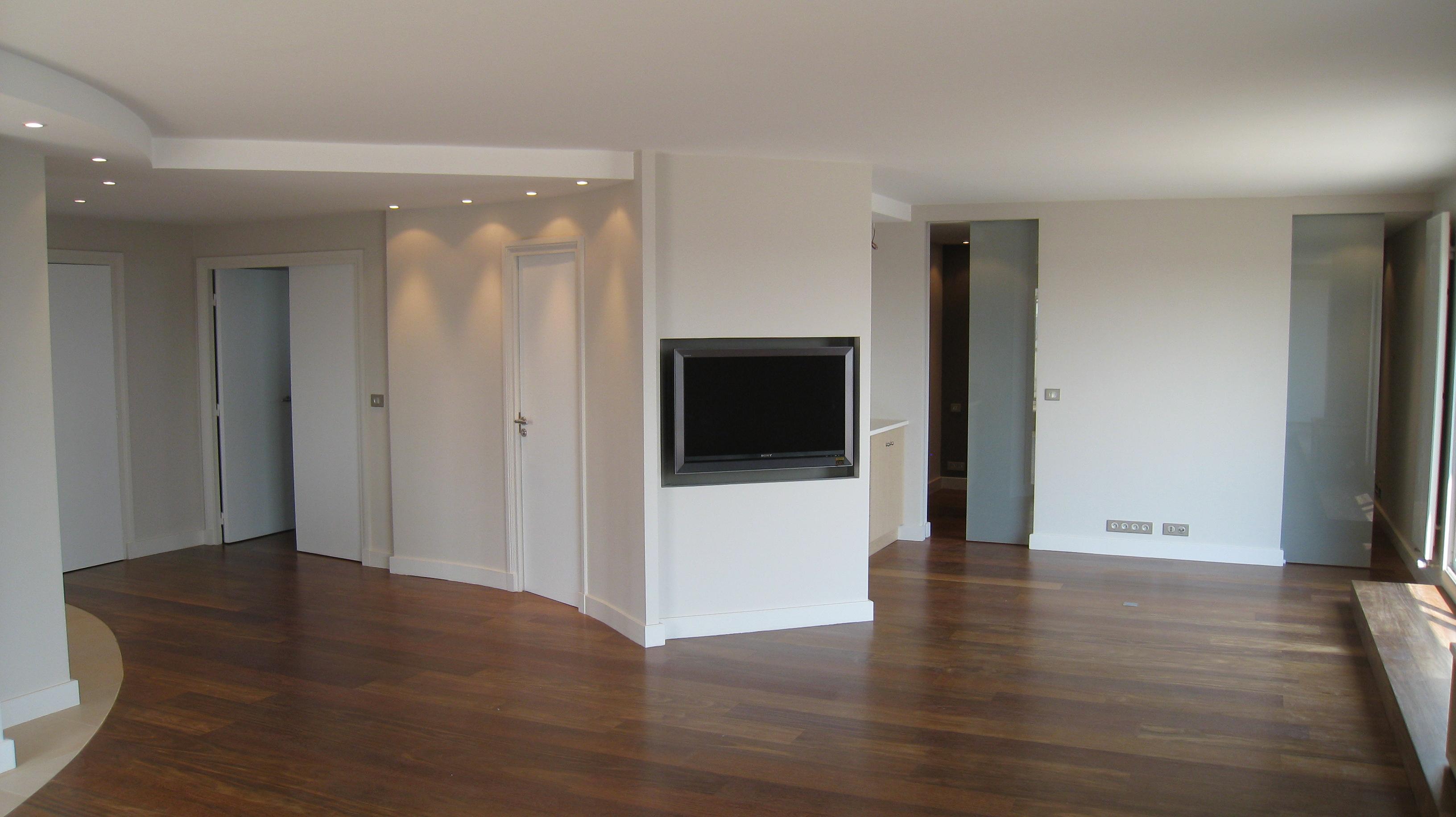 appartement en espace ouvert neuilly sur seine architecte interieur philippe ponceblanc. Black Bedroom Furniture Sets. Home Design Ideas